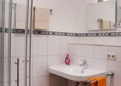 Badezimmer Gasthaus Augenstein